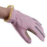 QEES YLST14 Professionelle Gartenhandschuhe, Rosen-Handschuhe, schöne atmungsaktive dornsichere Gartenarbeitshandschuhe für Blumenpflanzen, Asten, Obstpicking