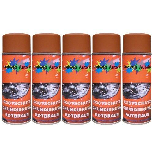 Preisvergleich Produktbild 5 Spray Rostschutz rotbraun 400 m je Spraydose