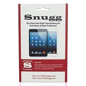 Snugg 2x iPad Mini & iPad mini retina Schutzfolie, ultratransparent und entspiegelt