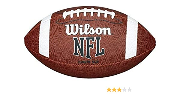 9db89fc338d Wilson Nfl Approved Club Experience Level Official American Football Size  Junior  Amazon.co.uk  Sports   Outdoors