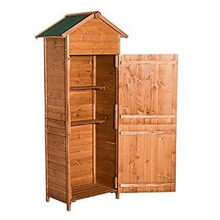 HOMCOM Outsunny Holz Gerätehaus Geräteschrank Gartenschrank Gartenhaus Geräteschuppen NEU