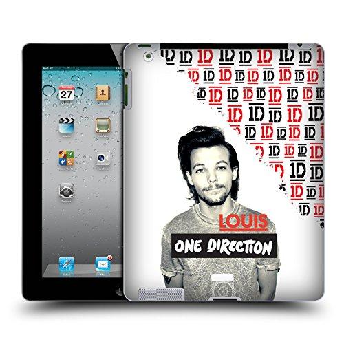 Head Case Designs Offizielle One Direction Louis Grau Filter Solo Poster Ruckseite Hülle für iPad 2 (2011)