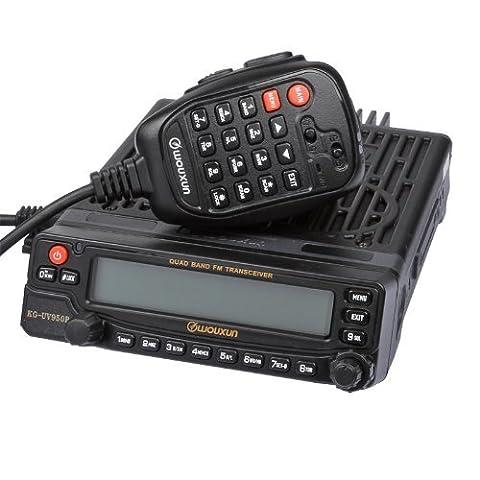 Wouxun KG-UV920R Car Multi-Founction VHF/UHF Dual Band Mobile Radio + DTMF mic