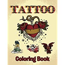 Tattoo Coloring Book: Coloring Books for Kids (Art Book Series)