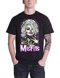 Misfits T Shirt Original Skeleton Skull Band Logo Offiziell Herren Nue