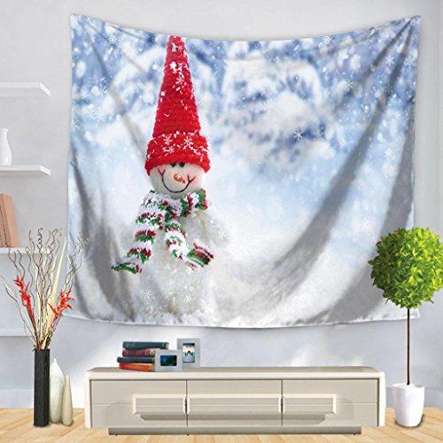 Wohnzimmer Tapisserie Westlicher Stil Weihnachten Wandbehang Dekoration , 150*200cm , c Westlichen Wandbehang Wandteppich