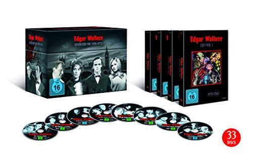 Edgar Wallace - Gesamtedition (1959-1972) (33 DVDs)