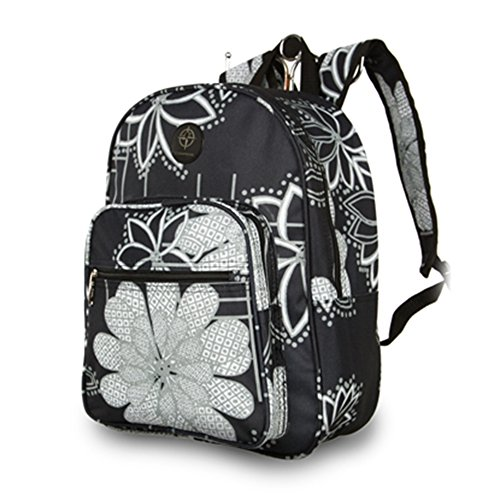 Fashion Essentials-spallacci imbottiti registrabili Deposito Daypack zaino bagpack (Marbs) London