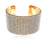 #5: YouBella Jewellery Designer Crystal Studded Bangle Bracelet for Girls and Women