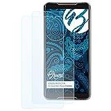 Bruni Schutzfolie kompatibel mit Asus ROG Phone ZS600KL Folie, glasklare Bildschirmschutzfolie (2X)