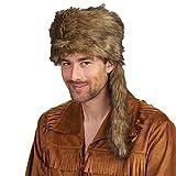 Bullyparade Trapper hommes Accessoires de costumes pour Cowboy sauvage brun costume Ouest