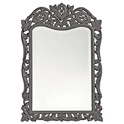 Howard Elliott 4085CH St. Agustine Mirror, Charcoal Gray