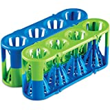 Heathrow Scientific HD120184 Adapt-A-Rack - Gradilla para tubos de ensayo (2 unidades), color azul y verde