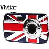 Appareil photo numerique compact Union Jack Vivitar ViviCam UJ10 de 10 Mpx agremente du drapeau britannique (10 megapixels, zoom 4x) (drapeau britannique)