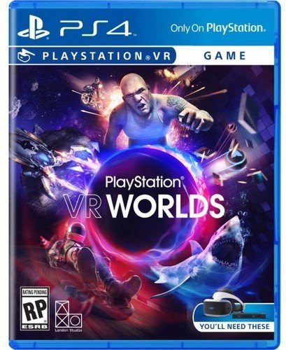 Sony VR Worlds PS4 VR Básico PlayStation 4 vídeo - Juego (PlayStation 4, Acción, M (Maduro))