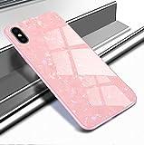 Ostop Paillette Coque pour iPhone XS Max,Étui Bling Brillante Motif Coquillage...