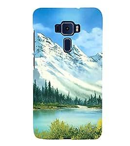 PrintVisa Orignal Image 3D Hard Polycarbonate Designer Back Case Cover for Asus Zenfone 3 ZE520KL