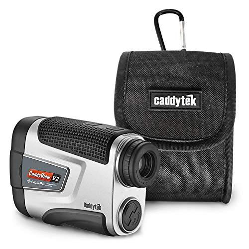 Caddytek Golf Laser Entfernungsmesser V2+Slope 5-800 Yard 6-facher Vergrößerung