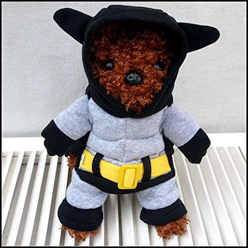 Batman Super Hero Hund Puppy Kostüm