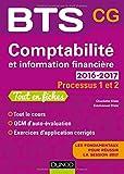 Comptabilité et information financière 2016-2017 - Processus 1 et 2 - BTS CG