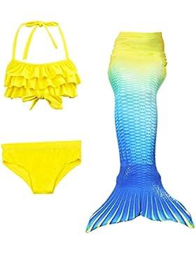 Le SSara Chicas tiburón Cosplay traje traje de baño sirena Shell conjuntos de traje de baño