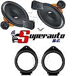 Hertz dSK 165dSK165.3haut-parleurs 2voies + supports Haut-parleurs opel astra-insigna-meriva 10> Mokka 13> Chevrolet Cruze Orlando