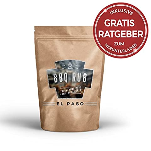 BBQ Rub - EL PASO - Excelent Barbaque Seasoning for all types of meat (220g)