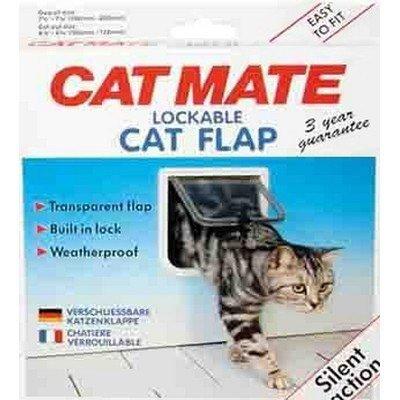 Cat Mate Katzenklappe 2-Wege-Katzenklappe, klein