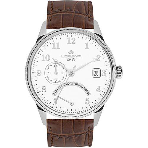 orologio solo tempo uomo Lorenz 1934 trendy cod. 030103AA