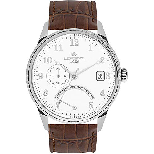 Reloj Solo Tiempo Hombre Lorenz 1934Trendy cód. 030103aa