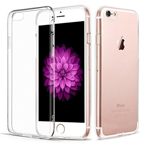 iPhone 7 Hülle, Vkaiy iPhone 7 Schutzhülle Transparent Handyhülle Crystal Clear Silikon Durchsichtig TPU Bumper Case für iPhone 7 (4,7')