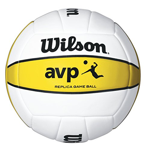 WILSON TEAM SPORTS Volleyball, AVP Replica, PVC Cover Image