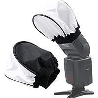 Digicare Universal Soft Mini Flash Reflector Bounce Diffuser Cap for on or Off Camera , Canon, Nikon , , simpex, digitek