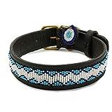 Zinj Design Kilifi Hundehalsband, Größe M, Blau