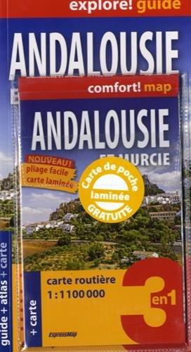 Andalousie et Murcie : Guide + atlas + carte routière et touristique 1/1 100 000