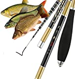 laselectionfishing Canne à pêche Coup Chinoise pêche Carpe pâte télescopique...