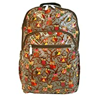 GFM Gloss Or Matt Finish OilCloth Large & Med Waterproof Backpack for School, College, Gym, Sports etc