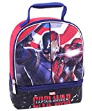 """Best Ruz Lunch Boxes - Captain America """"Civil War"""" Insulated Lunchbox - black Review"""