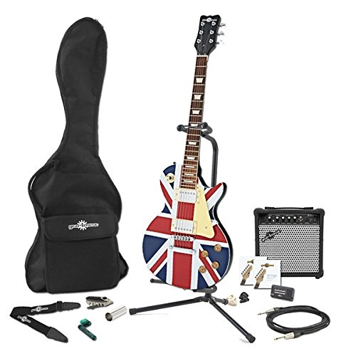 Guitarra Eléctrica New Jersey + Pack Completo - Union Jack