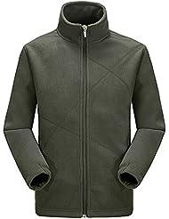 Zicac Veste jacket manches longues en laine Homme