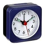 Lautlos-Wecker La Palma Reisewecker TFA 60.1019.06 blau Sweep-Uhrwerk