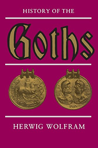 History of the Goths por Herwig Wolfram