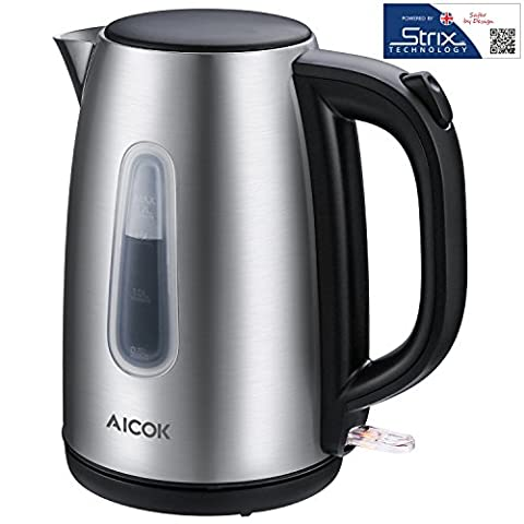 Aicok Electric Kettle Premium 304 Stainless Steel Tea Kettle Professional