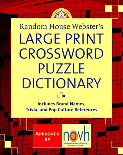 Random House Webster's Large Print Crossword Puzzle Dictionary (Websters Wörterbuch Großdruck)
