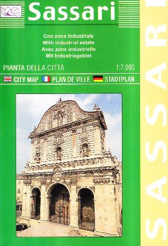 Sassari. Pianta della città 1:7.000: With Industrial Estate (Carte stradali) por Litografia Artistica Cartografica (LAC)