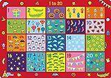 Little Wigwam - 1 bis 20 Platzdeckchen Platzset Tischset Für Kinder (Englisch)