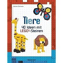 Tiere: 40 Ideen mit LEGO®-Steinen