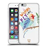 Head Case Designs Uccello Baby Animals Cover Morbida in Gel per iPhone 6 Plus/iPhone 6s Plus