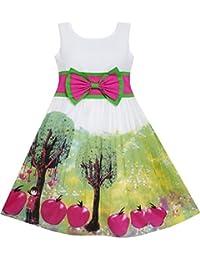 Sunny Fashion - Vestido para niña multicolor