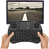 Mini Wireless Keyboard With Touchpad Multi-Media Remote Control Handheld Keyboard - B07GDHWV1H